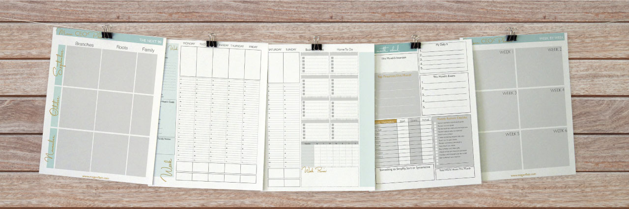 mama ceo planner