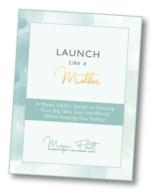 Launch Like a Mother - a free guide for getting your big idea into the world