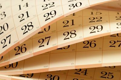 calendar 400