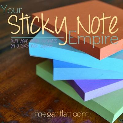 Sticky Note Square 400