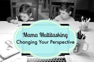 Mama Multitasking Photo