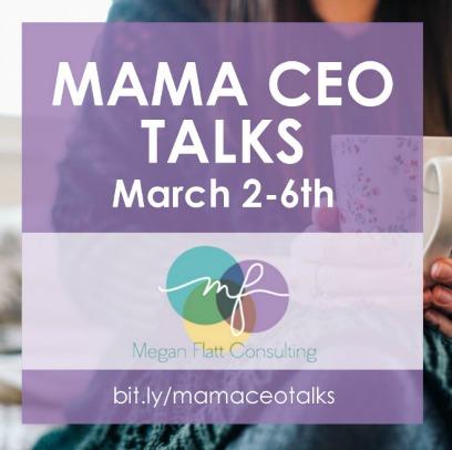 Mama CEO Talks images- purple FB